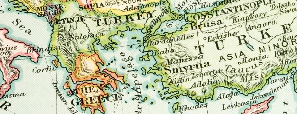 Turkey and Greece 1907