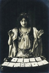 Fortune Telling with Cards.