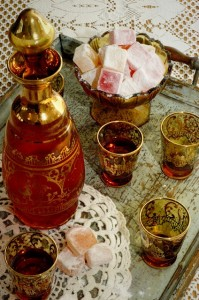 Turkish delight and drink