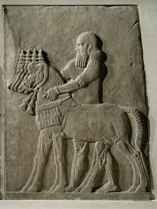 Assyrian bas-relief