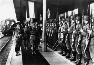 Franco and Hitler at Irun Station 1940