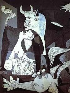 Guernica. Detail