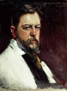 Joaquin Sorolla. Self Portrait.