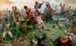 The British Cavalry at Waterloo