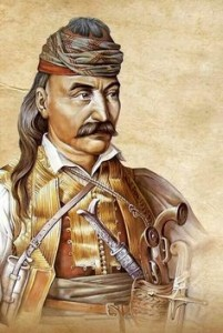 Theodore Kolokotronis. Hero of the Greek War of independence