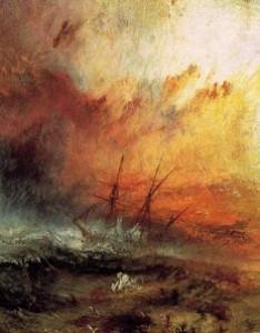 Turner. The Slave ship. 1840