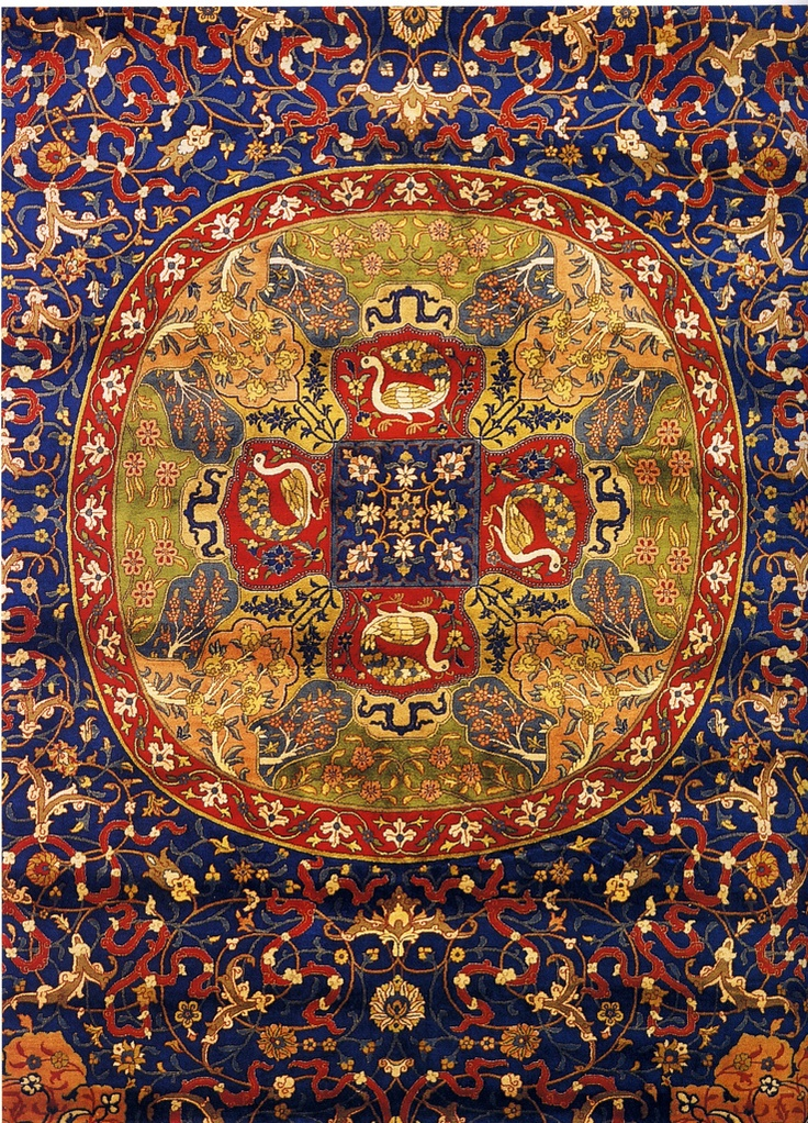 Detail Of Persian Carpet