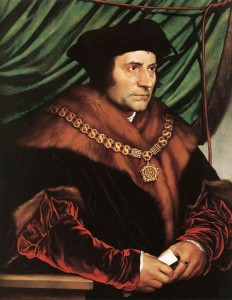 Sir Thomas Moore by Hans Holbein the Younger