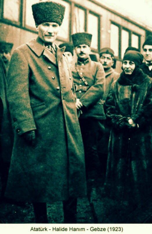 Ataturk and Halide 1823