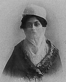 Halide with veil