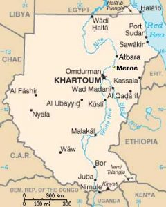 BLOG A Journey Along The Nile And The Kingdom Of - Map of egypt nubian desert