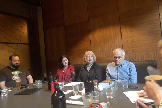 On the panel of the Historical Novelist Association Australasia. Presentation on Self-Publishing.
